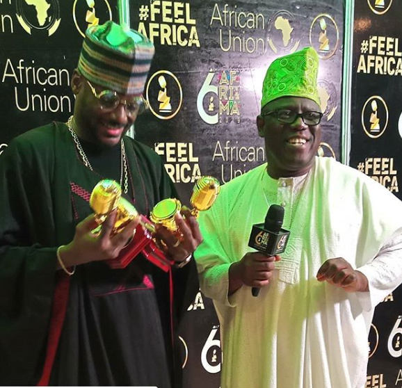 #6THAFRIMA Full List of Winners: Awilo Longomba and 2face Idibia receive?