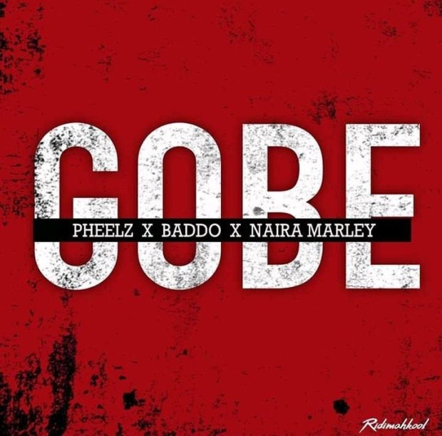 """Image result for images of Gobe photo with olamide , nairma marlye and pheelz"""""""