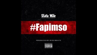 Shatta Wale Fapimso Mp3 Audio Download